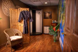 St. Tropez tanning at Serenity Day Spa